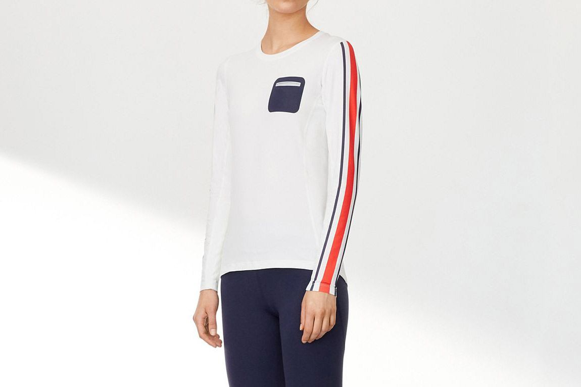 Performance Striped Top