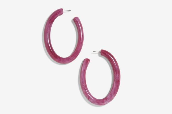BAUBLEBAR Pernille Resin Hoop Earrings