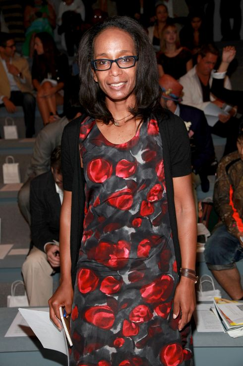NEW YORK - SEPTEMBER 10:  Fashion editor for The Washington Post, Robin Givhan attends the Duckie Brown Spring 2011 fashion show during Mercedes-Benz Fashion Week at The Stage at Lincoln Center on September 10, 2010 in New York City.  (Photo by Astrid Stawiarz/Getty Images for IMG) *** Local Caption *** Robin Givhan