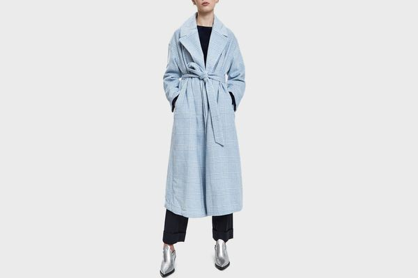 Ganni Woodside Robe Coat