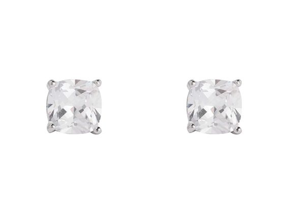 Kenneth Jay Lane cubic-zirconia earrings