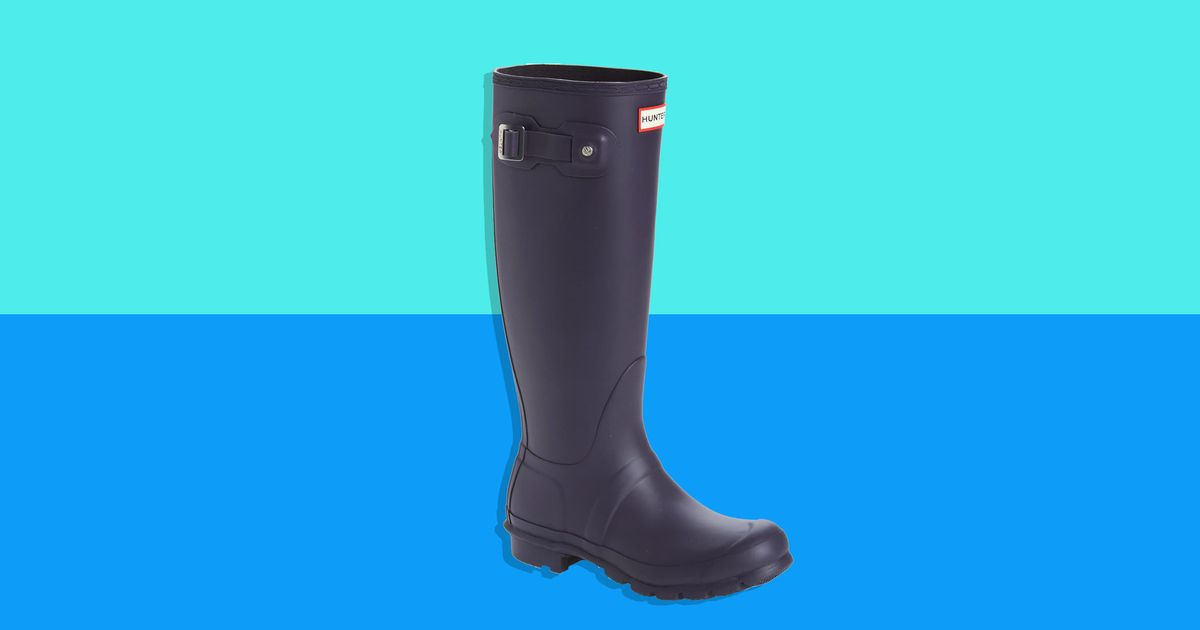 These Very Versatile Hunter Rain Boots Are Just $100