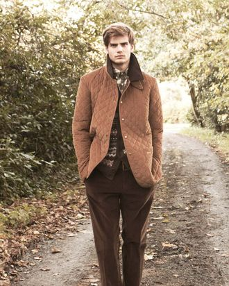 Barbour jackets: straight male blogger–approved.