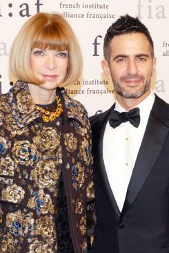 Anna Wintour with Marc Jacobs.