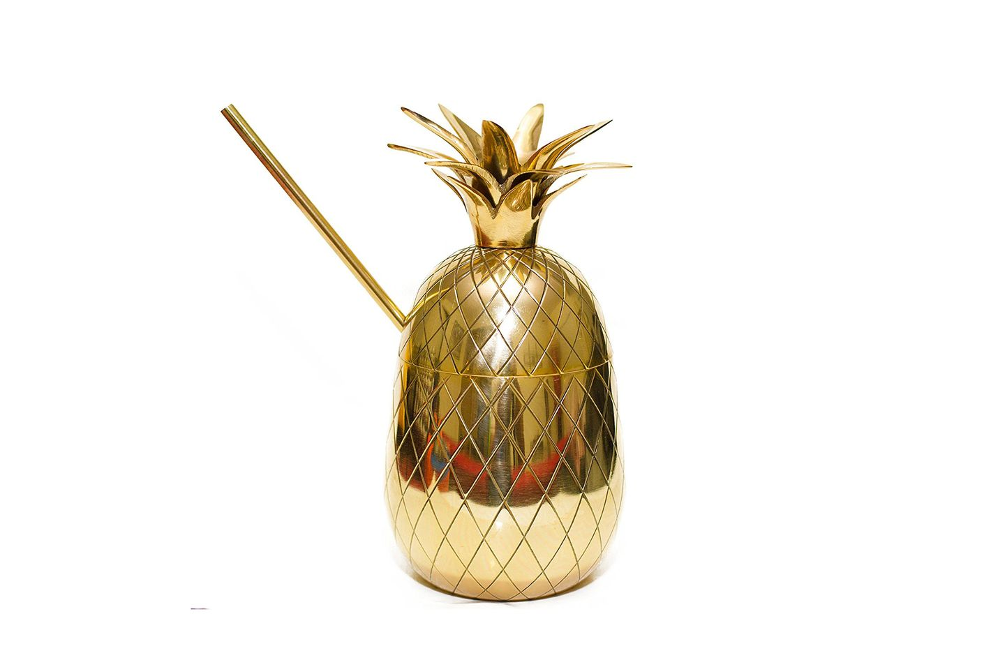 ZyyZ Ware Brass Pineapple Mug