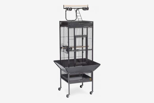 Prevue Pet Products Wrought-Iron Select Bird Cage Black Hammertone