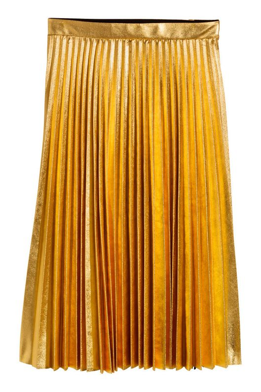 best bet h m pleated skirt the cut
