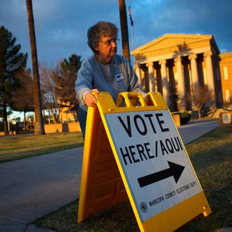 Arizona Holds Presidential Primary