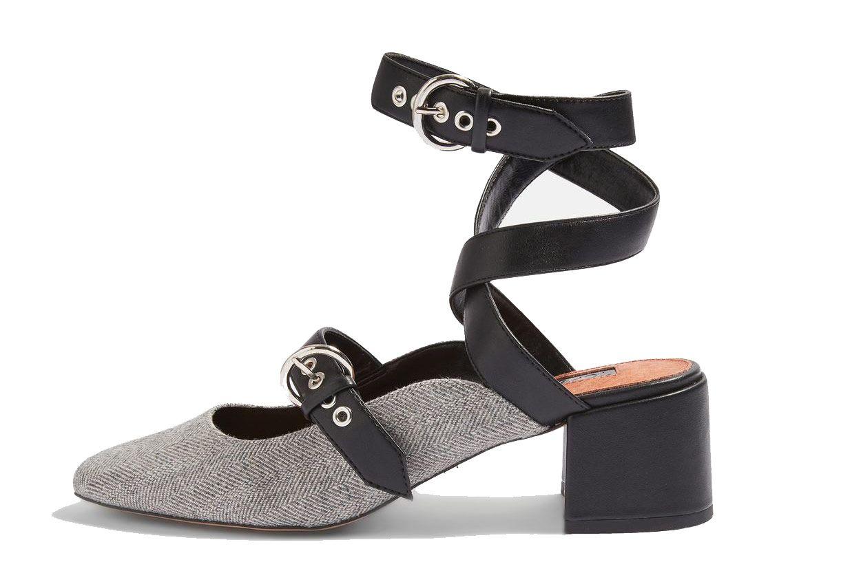 Topshop Jude Mid-Heel Court Shoes