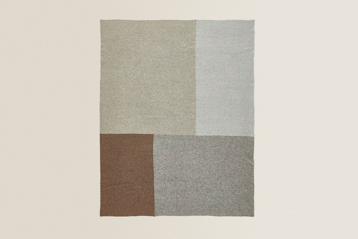 Zara Home Two-Tone Blanket