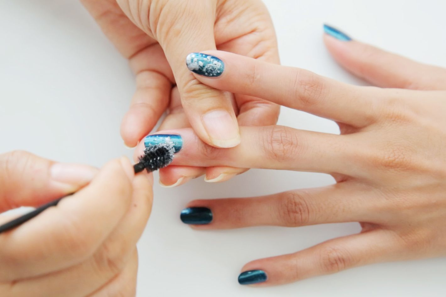 How to Draw a Galaxy on Your Nails