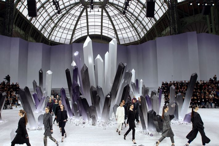 The Chanel runway.