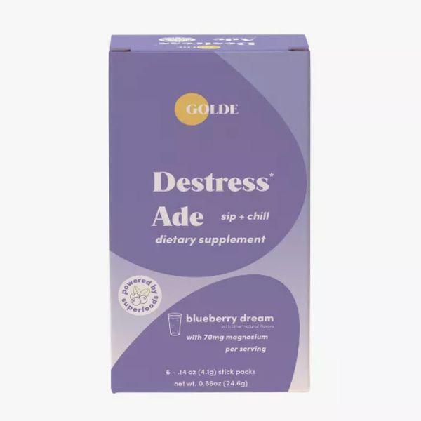 Golde Destress Ade Blueberry Dietary Supplements
