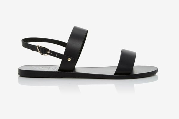 Ancient Greek Sandals Clio Leather Gladiator Sandals