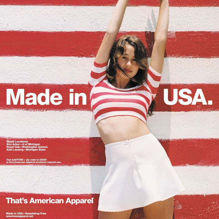 low priced 107d6 45fb4 American Apparel Is Back, But Not Everything Is Made in the USA