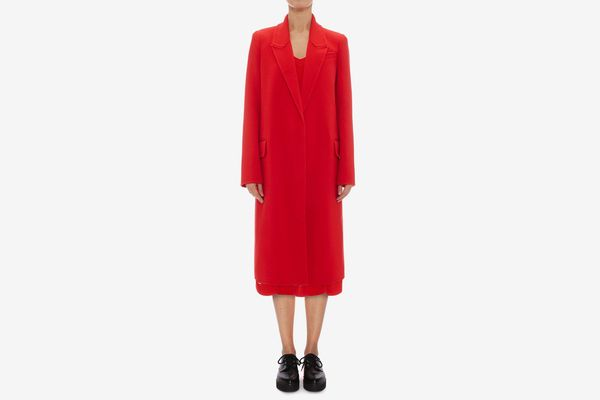 Alexander McQueen Double Faced Cashmere Coat