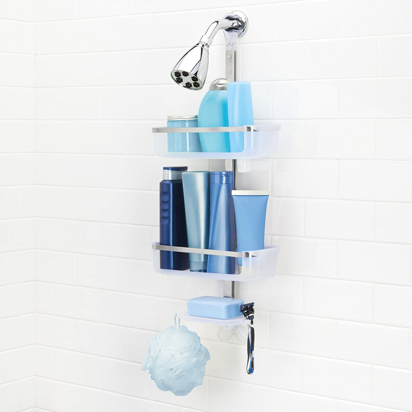 OXO Good Grips 3 Tier Shower Caddy 20