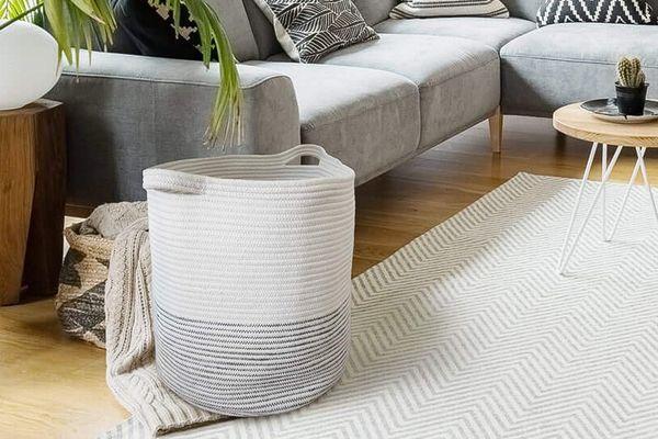 Extra-Large Woven Storage Basket