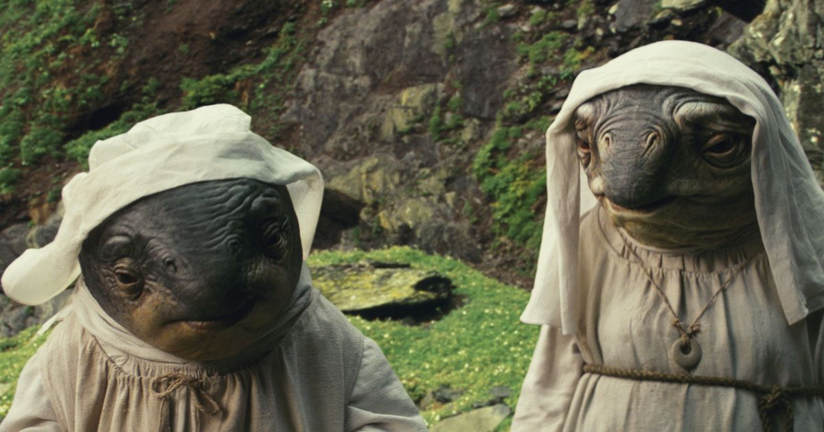 The Last Jedi's Best Creatures Are the Judgmental Fish Nuns
