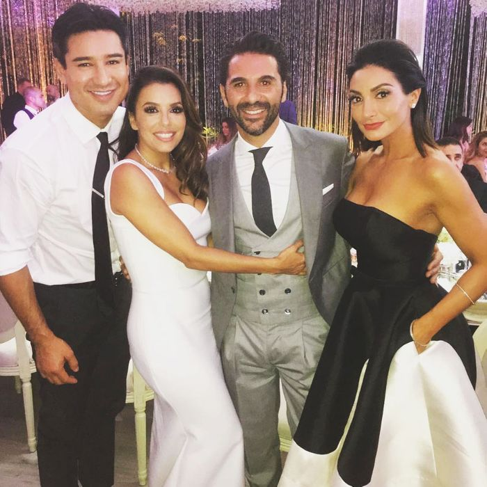 Eva Longoria's wedding.