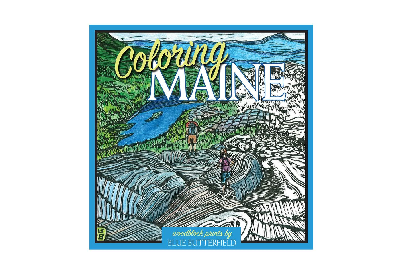 Coloring Maine by Blue Butterfield