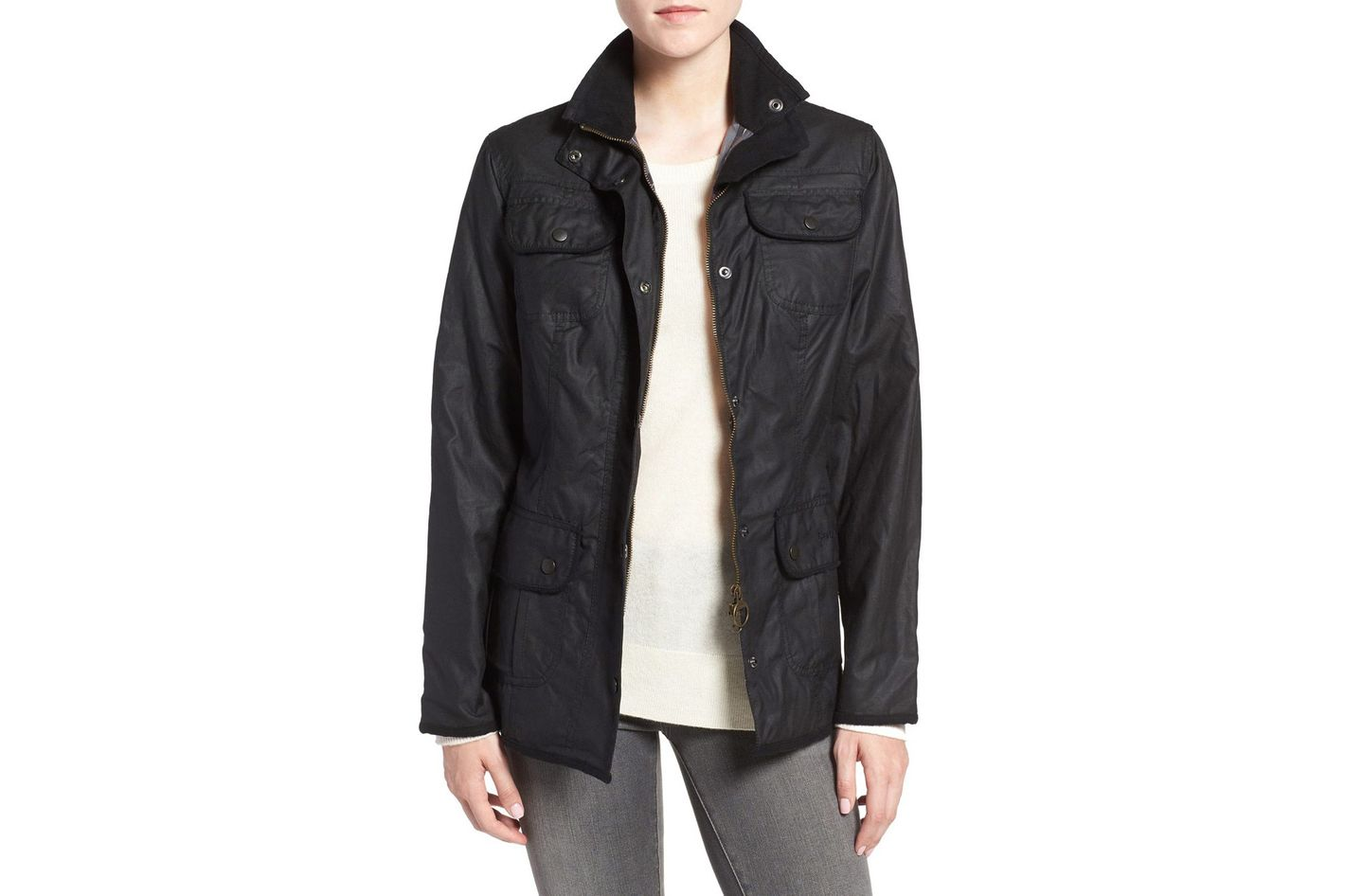 Barbour Waxed Cotton Utility Jacket
