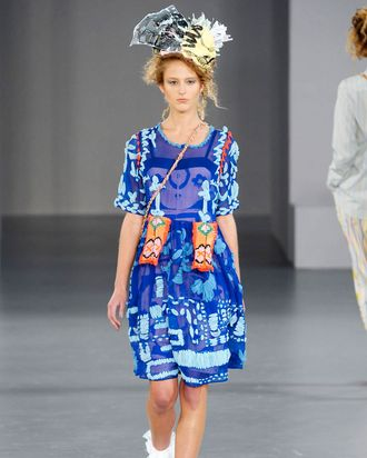 Louise Gray's Spring 2012 Show.