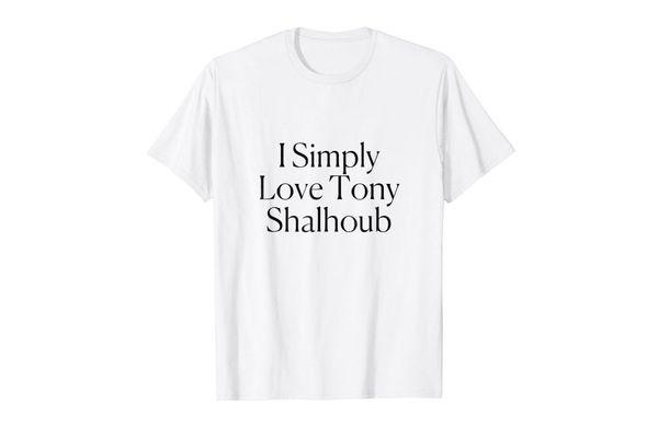 I Simply Love Tony Shalhoub Tee