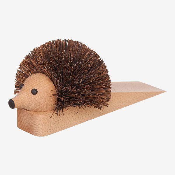 Redecker Shoe-Cleaning Hedgehog Doorstop