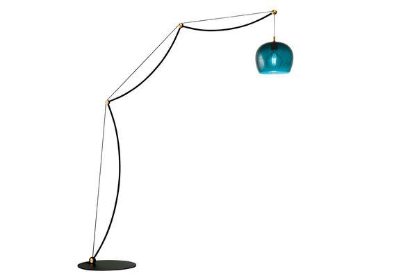 """La Ligne"" lamp designed by Louvry & Angioni"