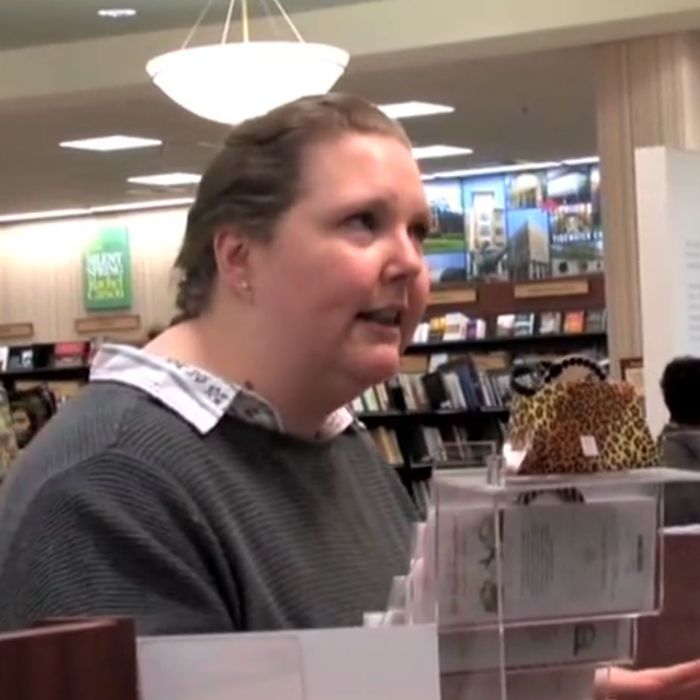 The Story Behind The Crazy Chick Flips Out In Barnes Noble