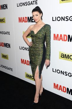 Actress Jessica Pare attends the AMC celebration of the 'Mad Men' season 7 premiere at ArcLight Cinemas on April 2, 2014 in Hollywood, California.