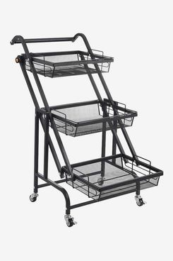 3-Tier Rolling Utility Cart with Handle