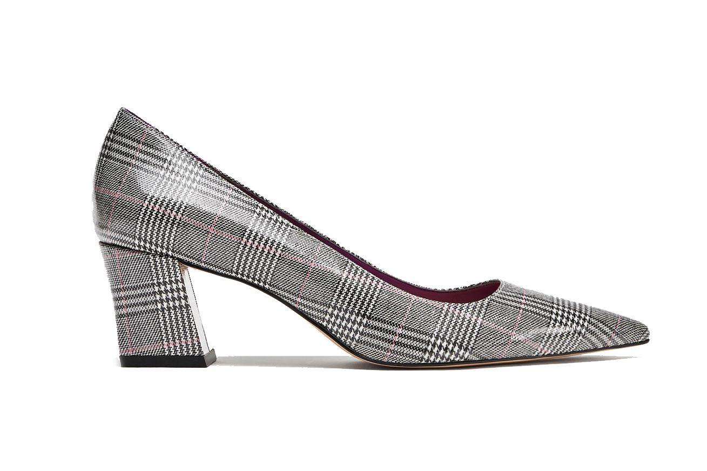 Zara Checked High Heel Court Shoes