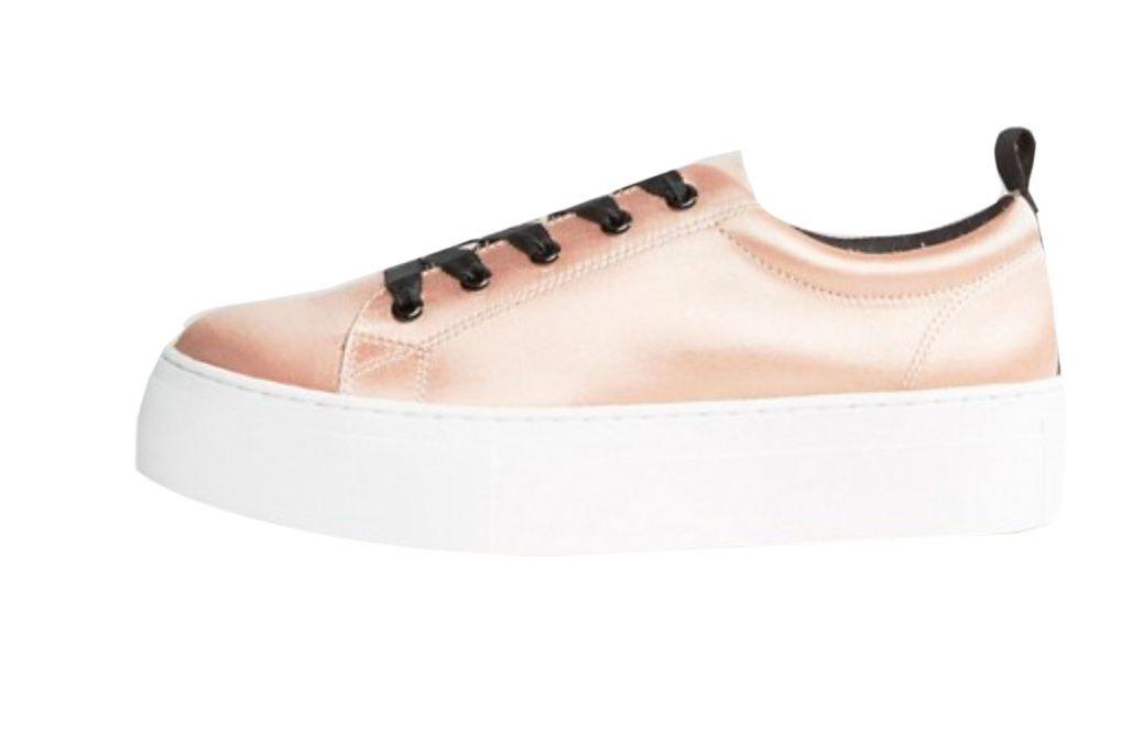 KG Ginny Flatform Satin Sneaker