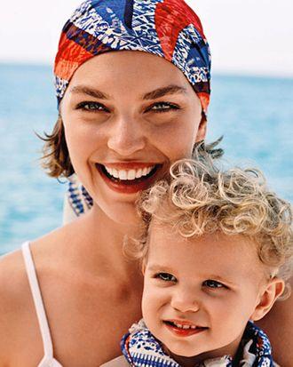 Arizona and her three-year-old son, Nikko.
