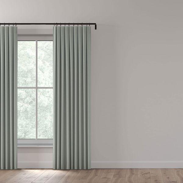 Everhem Custom Linen Blackout Shades