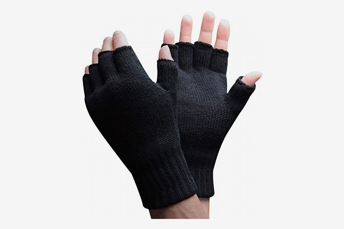 071743232 3M Thinsulate 40 gram Thermal Insulated Knit Winter Fingerless Gloves