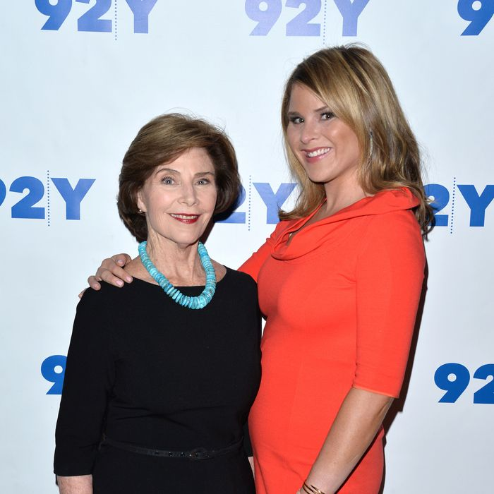 Laura Bush and Jenna Bush Hager
