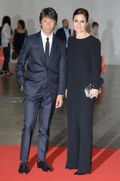 Valentino's creative directors Pier Paolo Piccioli and Maria Grazia Chiuri.