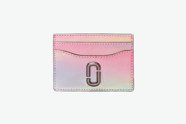 Marc Jacobs The Snapshot Airbrush Saffiano Leather Card Case
