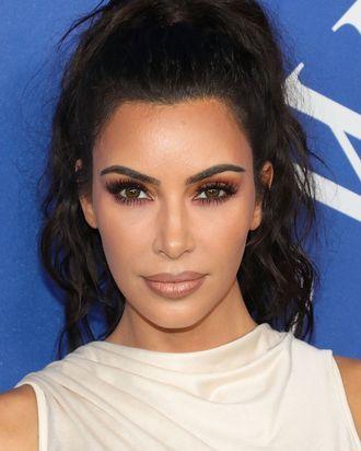 Kim Kardashian West at the 2018 CFDA Awards.
