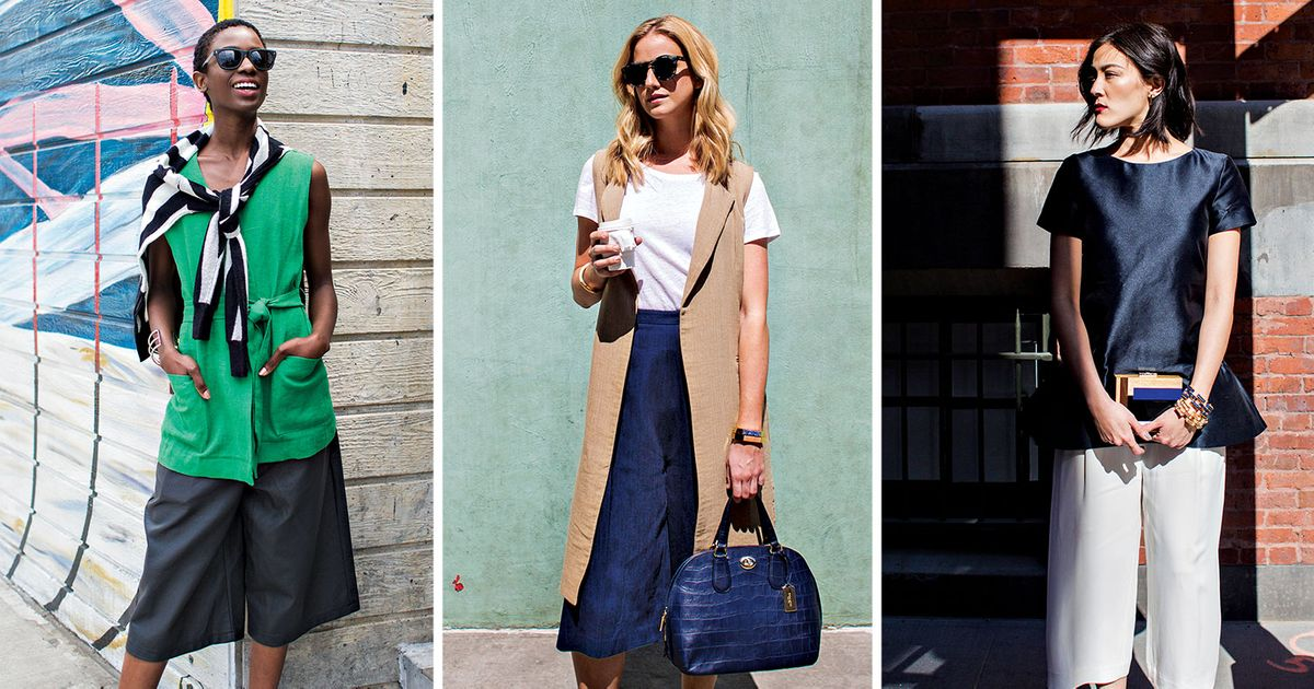 So You Bought Some Culottes, Now How Do You Style Them?