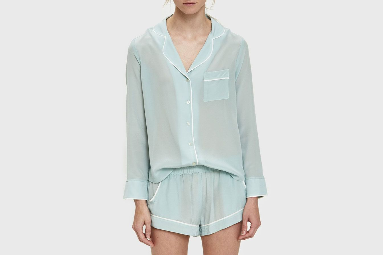 Maison Du Soir Bardot Sleep Shirt