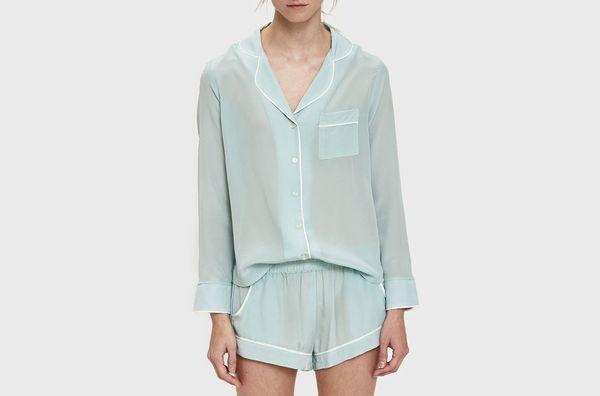 Maison Du Soir Bardot Sleep Shirt