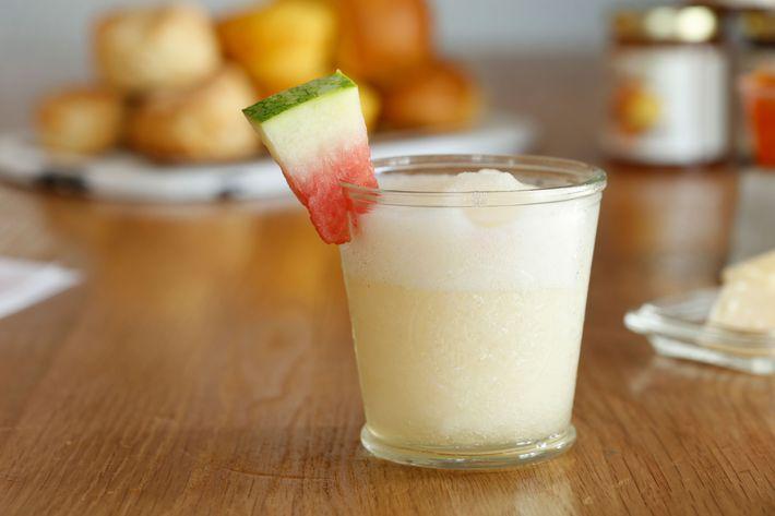 Frozen lemonade.