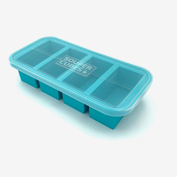 Souper Cubes Extra-Large Silicone Freezing Tray with Lid
