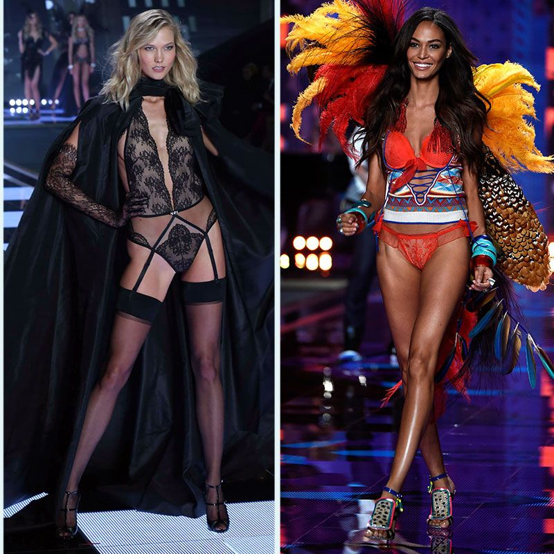 b133b89591 The Victoria s Secret Fashion Show Featured Tanned Butt Cheeks and Bouncy  Curls