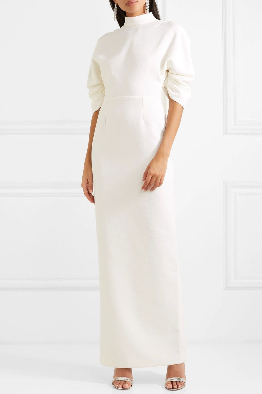 Emilia Wickstead Sharonella Wool-Crepe Dress