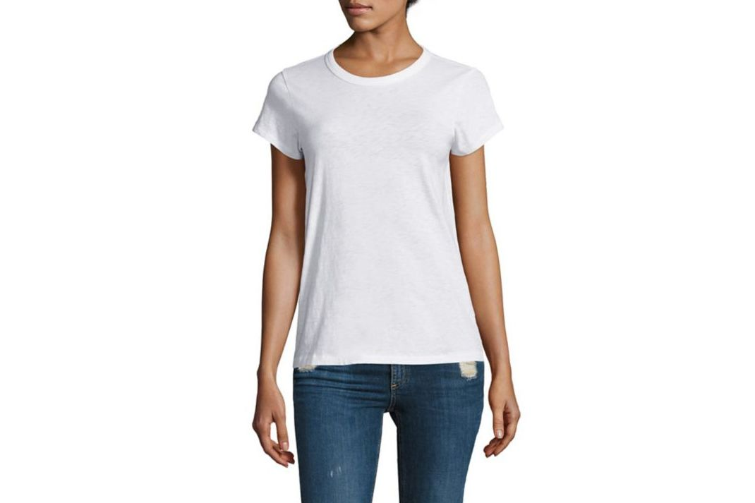 Rag & Bone/JEAN Cotton Crewneck Tee